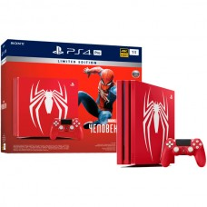 PlayStation 4 Pro Spider-Man Limited Edition Bundle (1 Tb, Spider-Man, красный), , Консоли